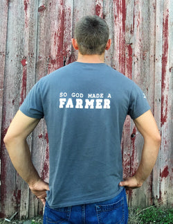 So God Made a Farmer Tee