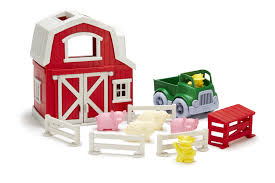 Green Toy Farm Set