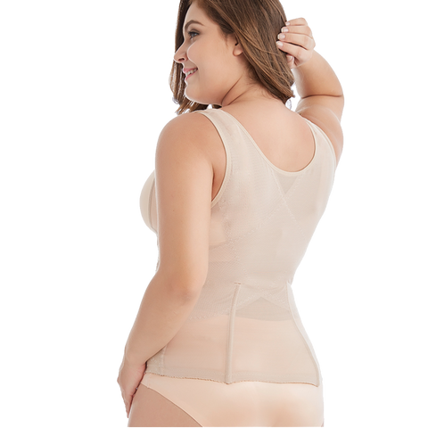 Image of Slimmer Body Shaper Tummy Control Vest