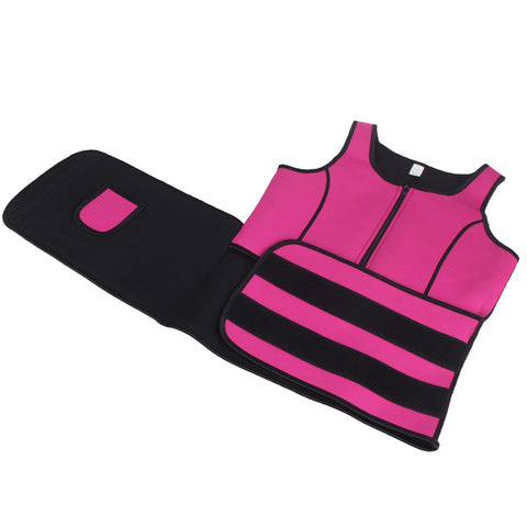 Image of Neoprene Sauna Sweat Vest