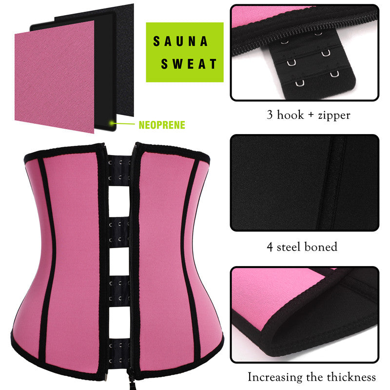 Perfect Fit Clip & Zip Neoprene Waist Trainer