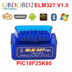 Interface Diagnostic ELM32 Bluetooth OBD2 pour Android