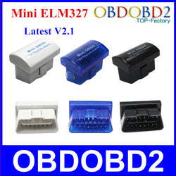 Interface Diagnostic Mini ELM327 Bluetooth V2.1 OBD2 / OBDII pour Android/Symbian/Windows