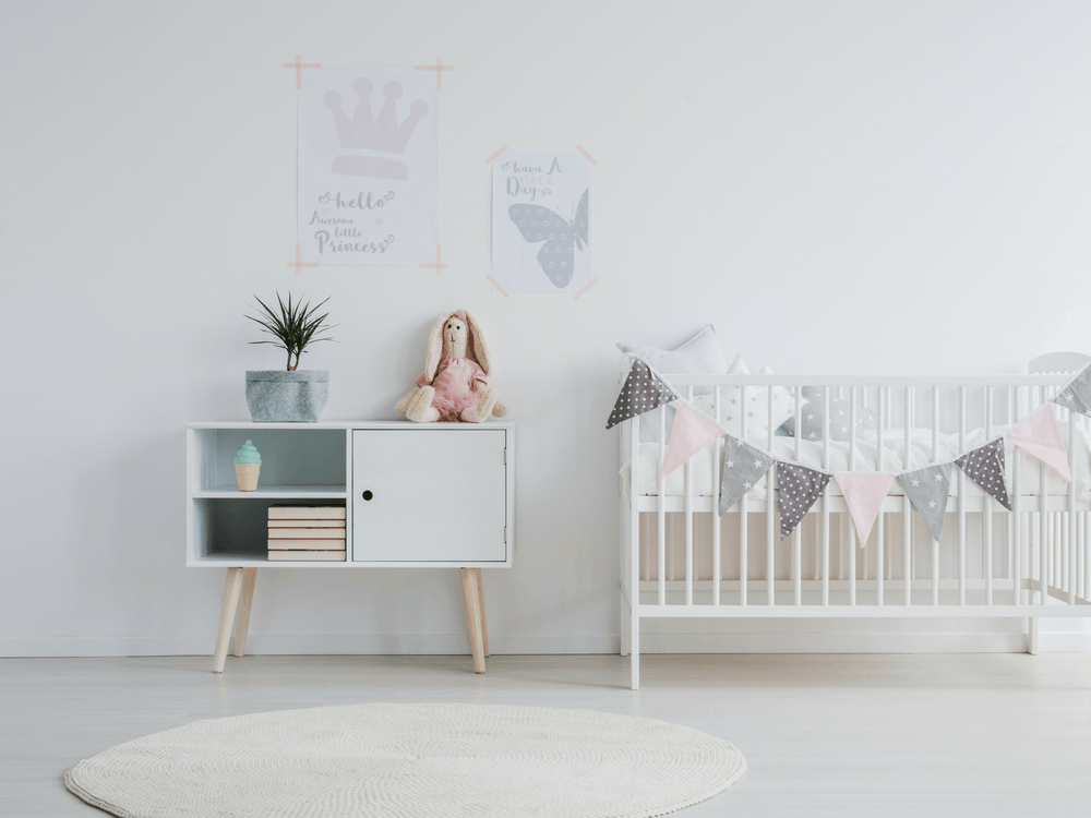 7 Nursery Decor Ideas For Girls Pink And Gray Theme Bubzi Co