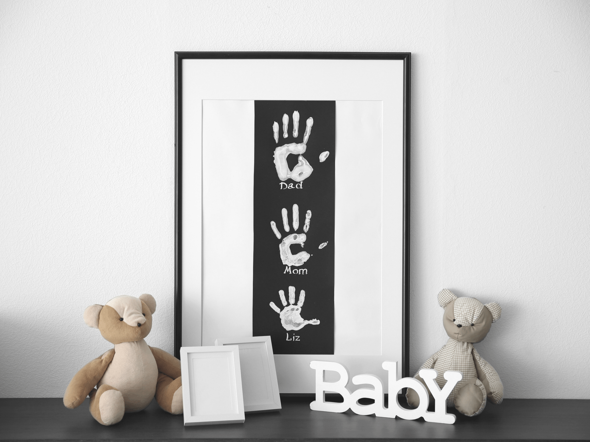 Baby Handprint Gift Ideas