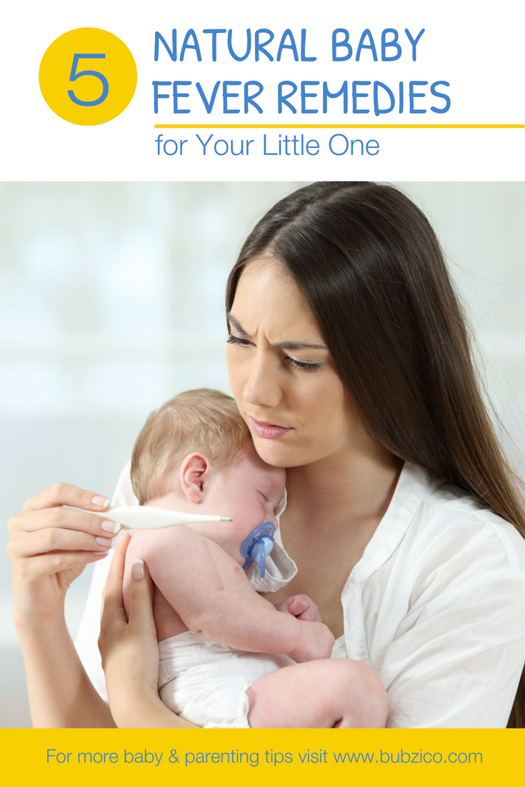 Before you start feeling helpless, just know that you're not alone! That's why we're here with the top 5 natural tips for reducing your baby's fever, without resorting to medicine or other drugstore products. These #babyfever remedies will not only help bring down your little ones fever but also help comfort them too – because everyone just wants to get back to normal! | How to Control Fever for Infants + For Kids | Must Have Health Products + #bubzico Articles | Toddlers Health Ideas
