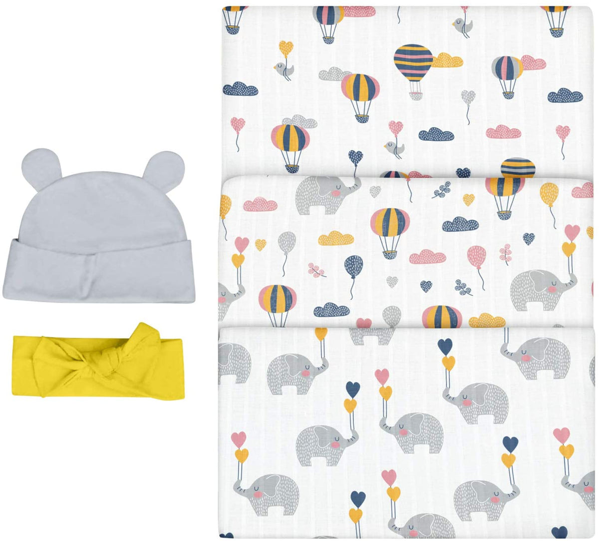 Elephant Newborn Sleep Bundle Bubzi Co