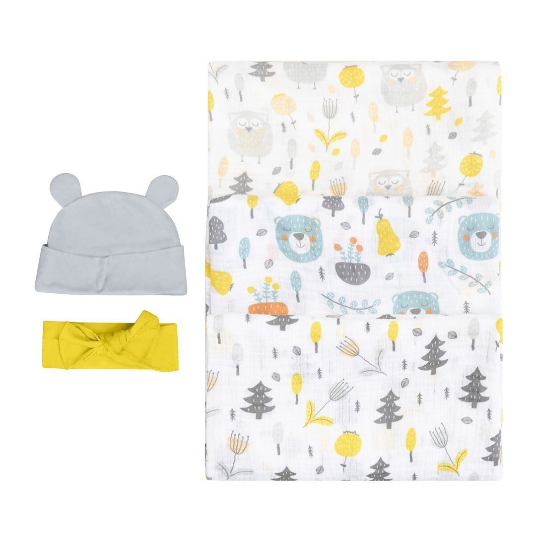 Woodland Newborn Sleep Bundle Bubzi Co