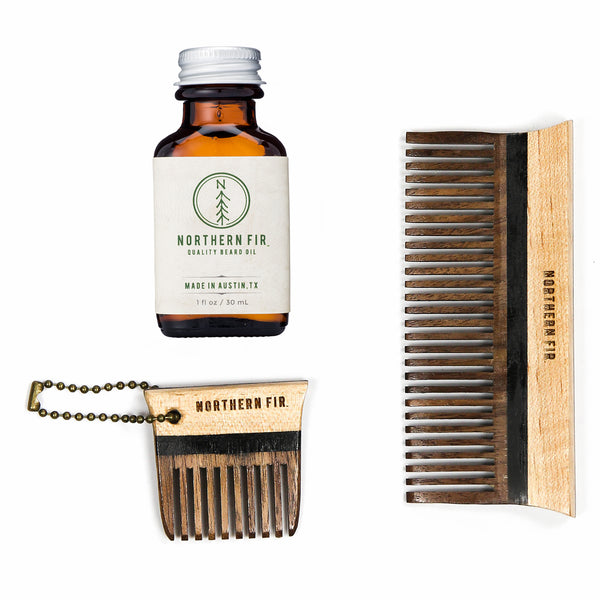 Beard Oil and Comb Set