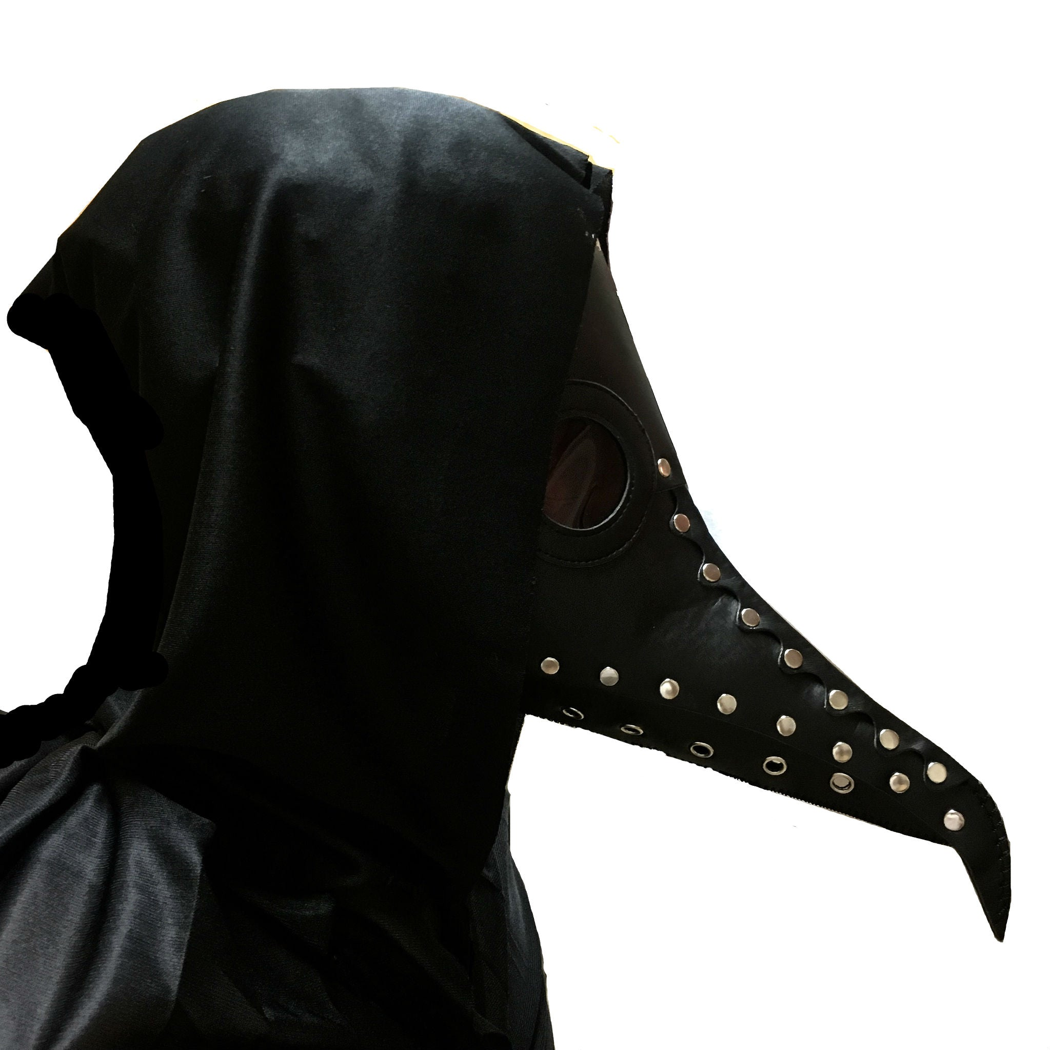 Day Of The Dead - Black Death Plague Doctor - Black