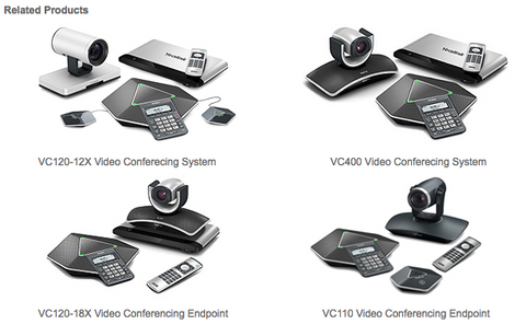 Yealink Video Conferencing Products