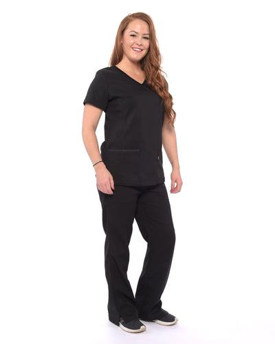 Degraw Lined Scrub Top