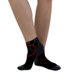 ATN SportsEdge Training Ankle Sock - Atomic Black