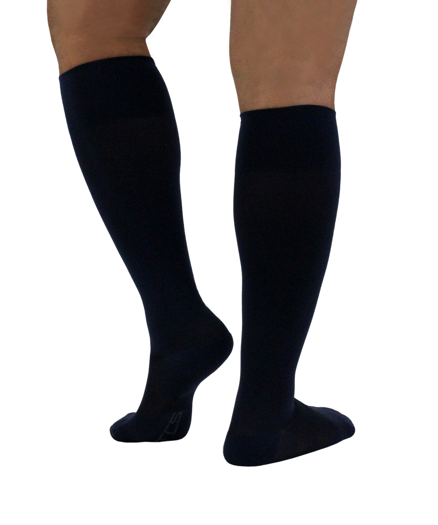 ATN Compression Knee High Mens- Black