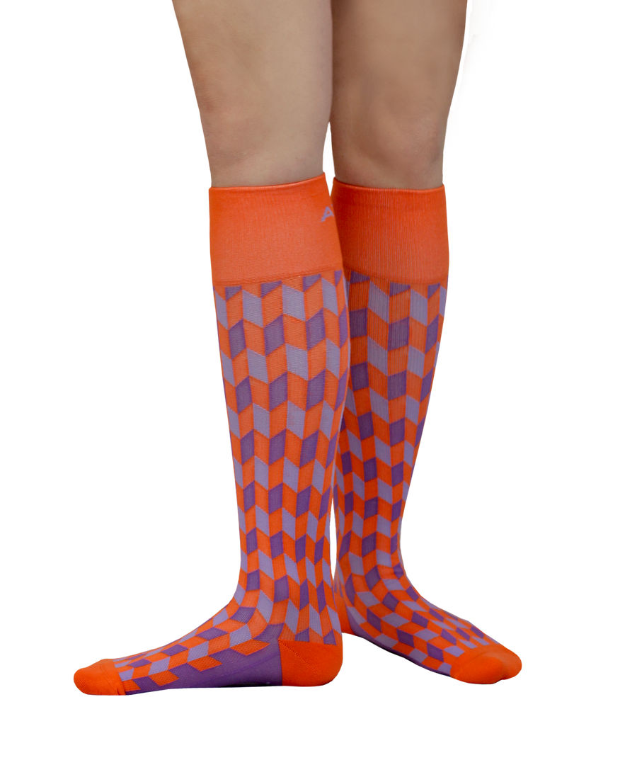 ATN Compression Knee High - Pumpkin Spice