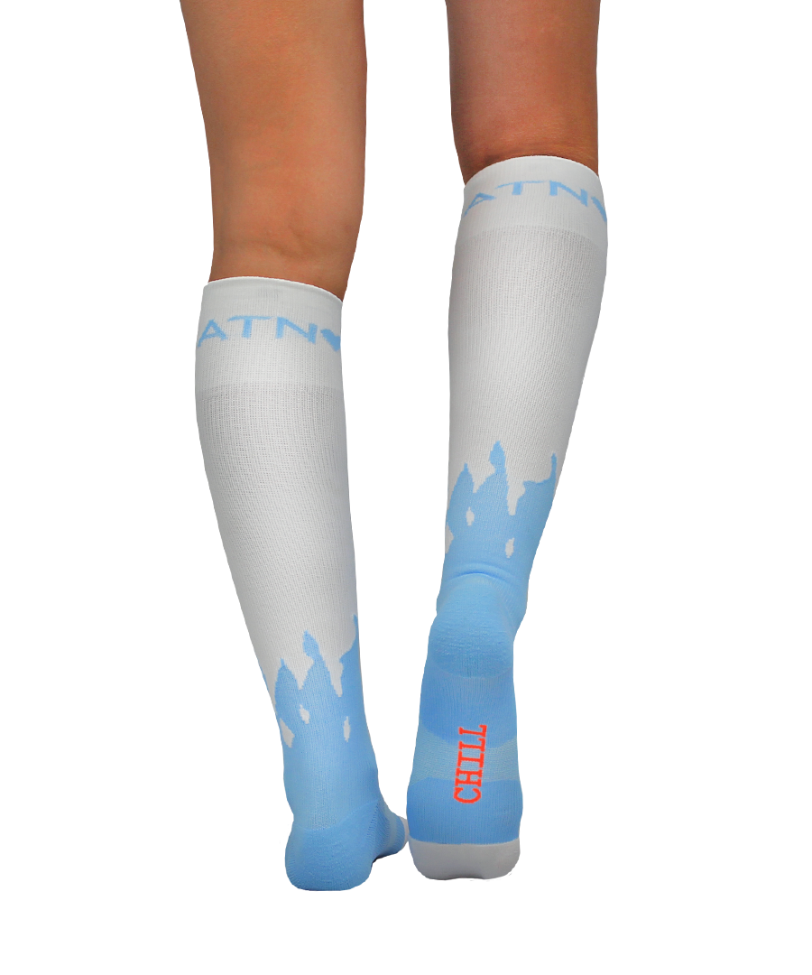 ATN Compression Knee High - Melting Snowman