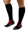 ATN SportsEdge Socks - Atomic Black - Men's