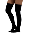 ATN Compression Thigh High Stockings- Black
