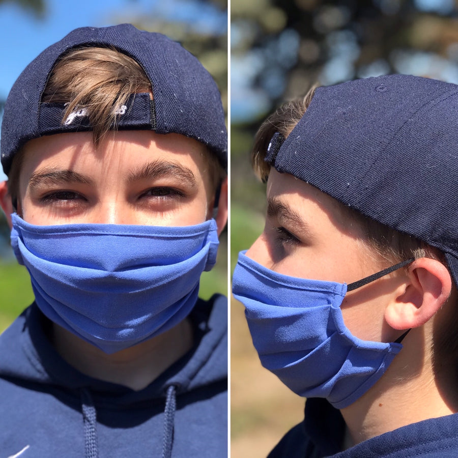 Antimicrobial & Antiodor Pleated Mask