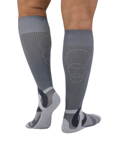 ATN SportsEdge Socks - Steel Grey - Men's