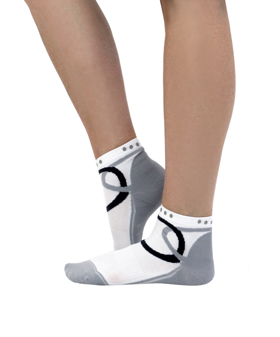 ATN SportsEdge Training Ankle Sock - Arctic White