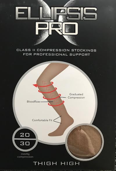 ATN Compression Thigh High Stockings - Bronze