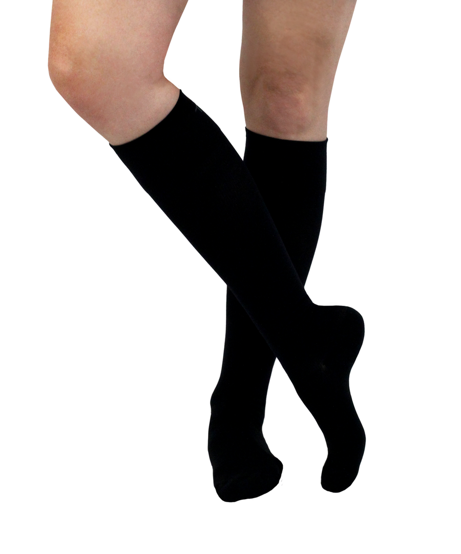 ATN Compression Knee High - Black