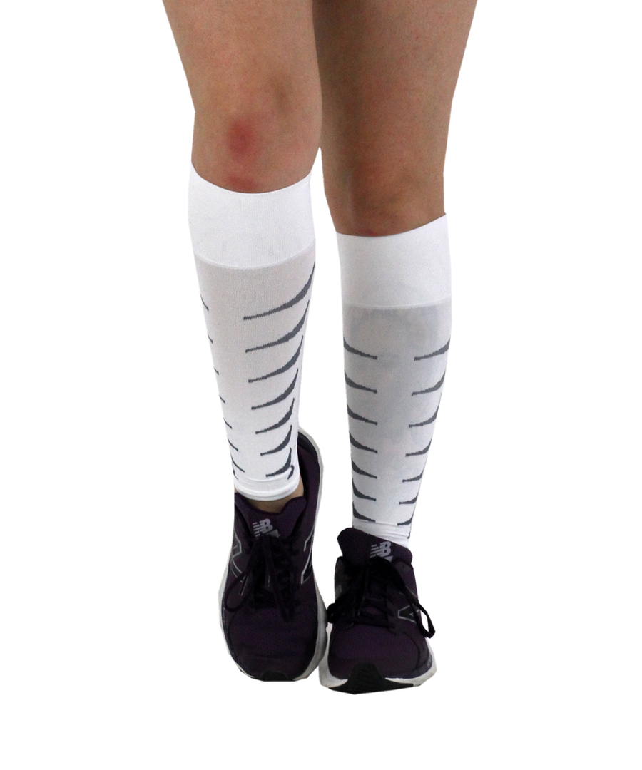 ATN SportsEdge Calf Sleeves - White
