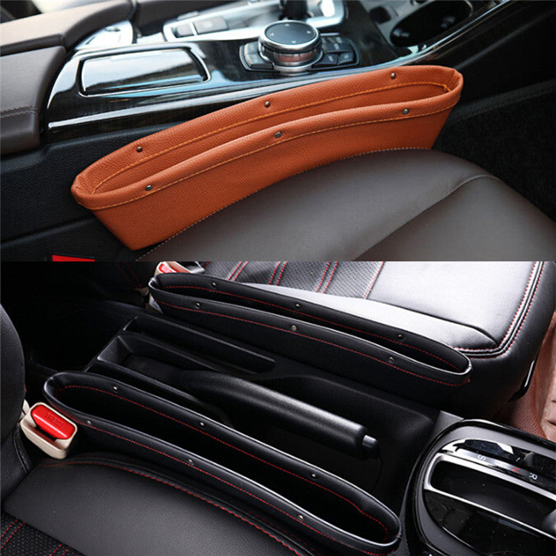 Leather Car Seat Pockets
