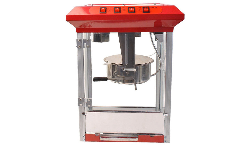... Deluxe Popcorn Maker 8oz Machine Theater Popper Durable Red Tabletop, ,  Citizensave ...