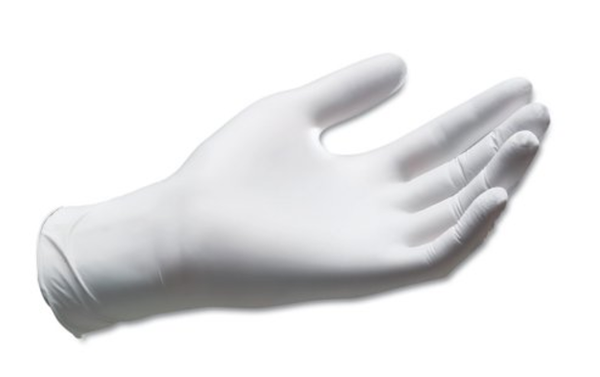 Henna Gloves Nitrile Gloves, Powder-free, Gray (Non-Latex Material)