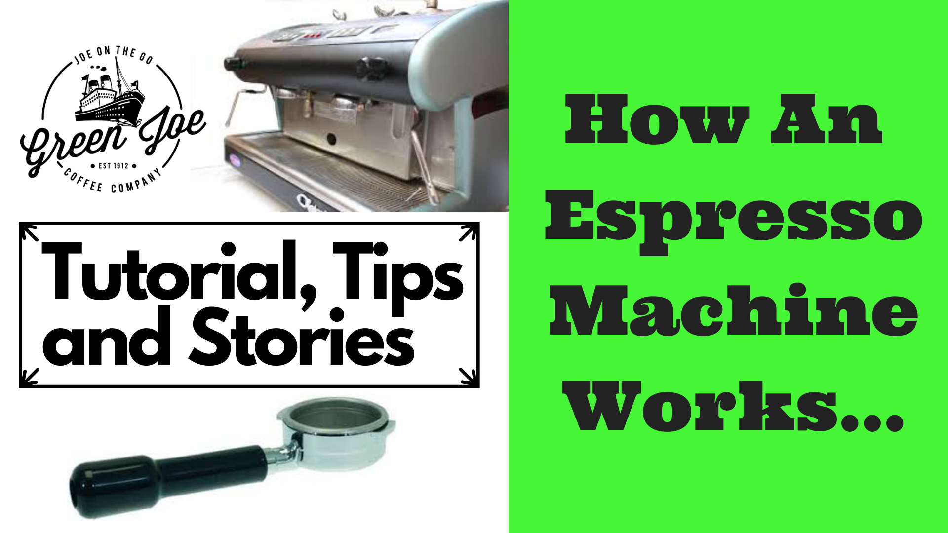 How a Commercial Espresso Machine Works: Tour, Parts, Mechanisms and Tutorial.
