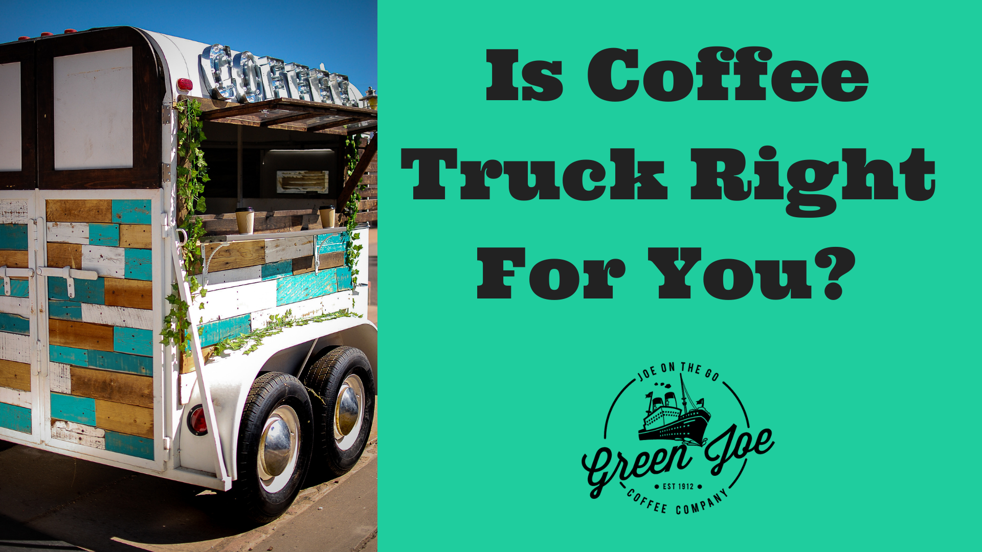 How to Start a Coffee Trailer: Pros and Cons. Should I? Initial Investment to Full Time Coffee Shop