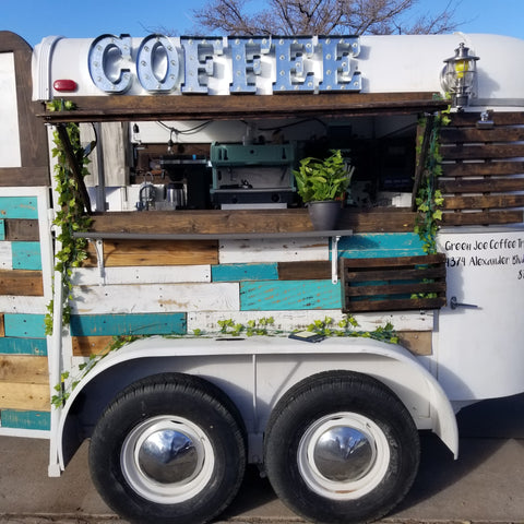 used coffee trailer for sale