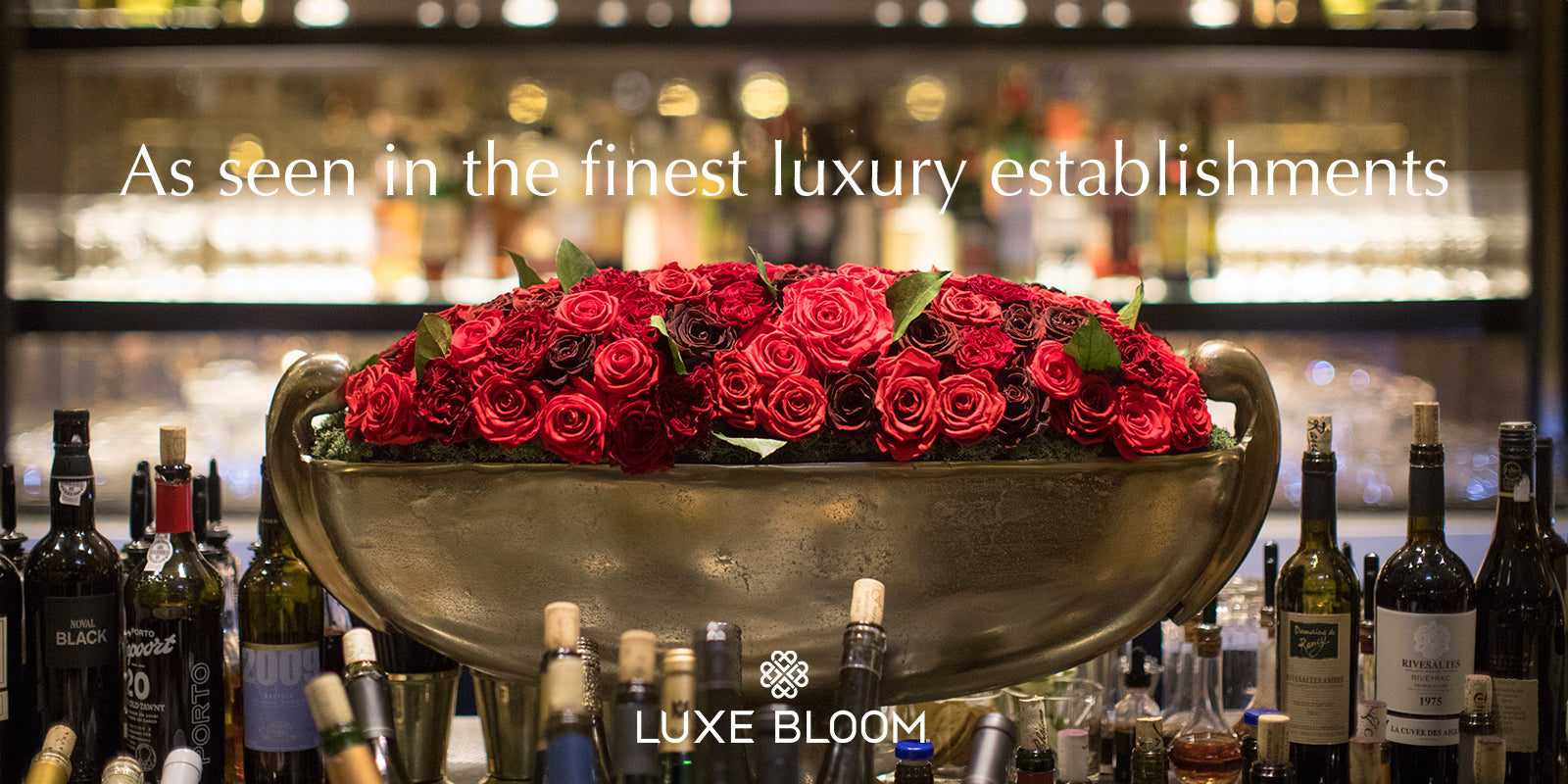 Luxe bloom long lasting luxury roses featured products izmirmasajfo Image collections