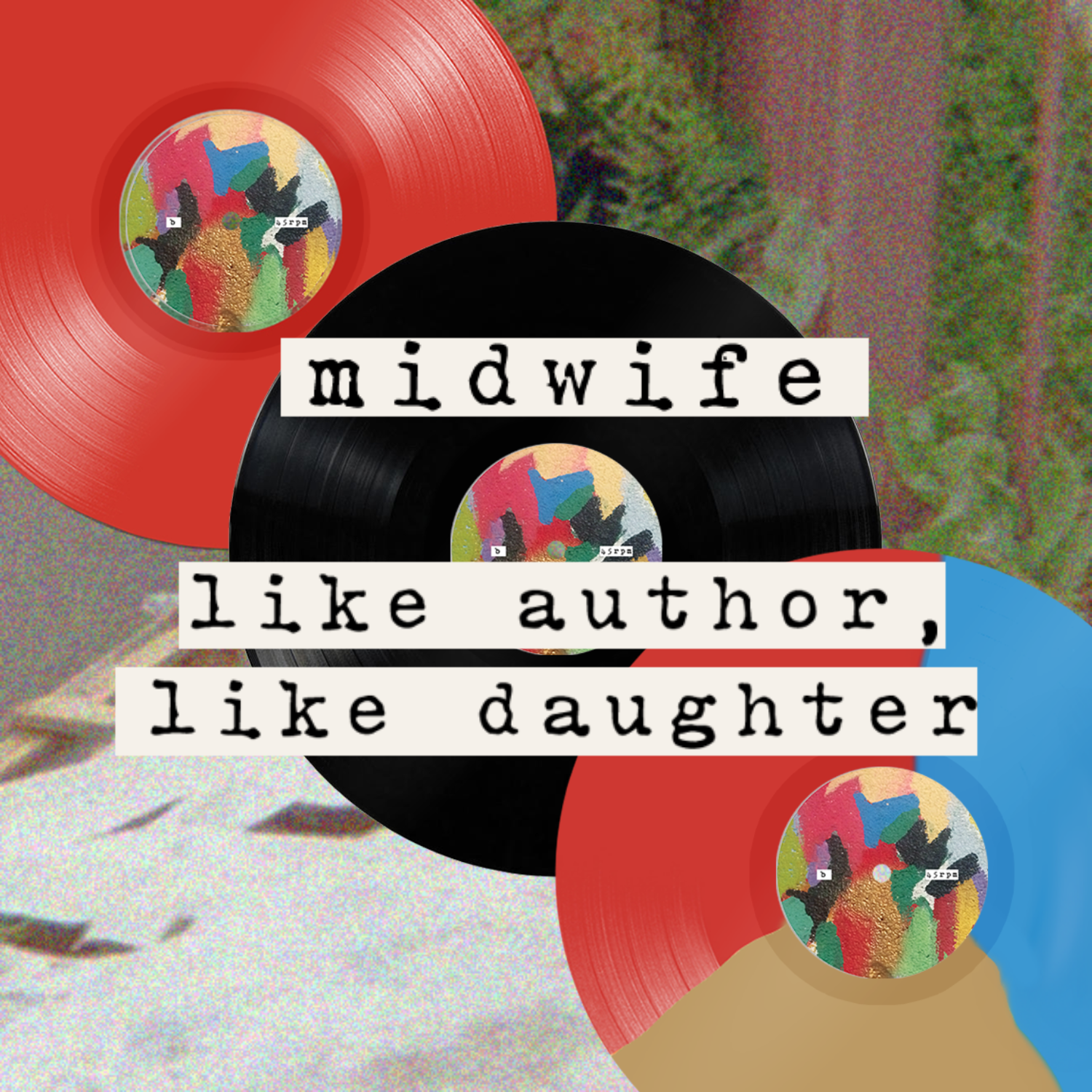 "Midwife ""Like Author, Like Daughter"" DLP, new merch"