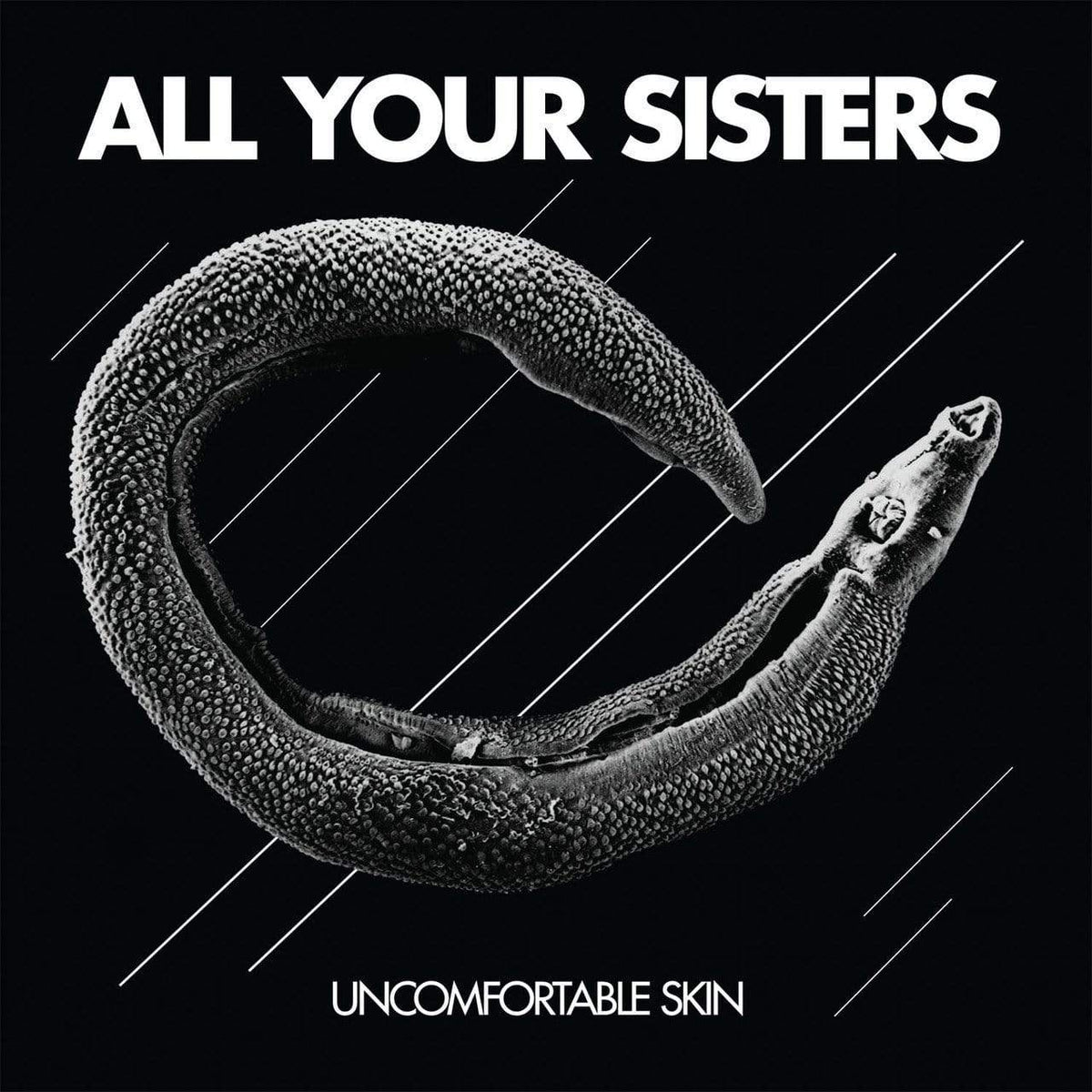"The Flenser Vinyl,Flenser Releases Black Vinyl All Your Sisters ""Uncomfortable Skin"" LP"