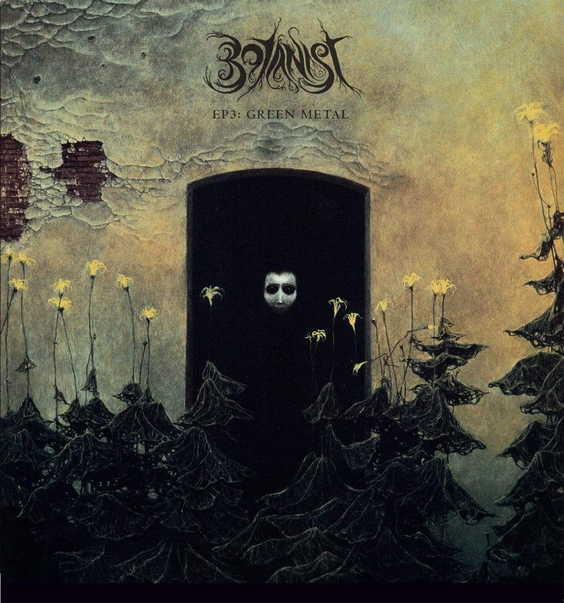 "Favonian Vinyl,Distributed titles Botanist / Oskoreien ""EP3: Green Metal / Deterministic Chaos"" LP"