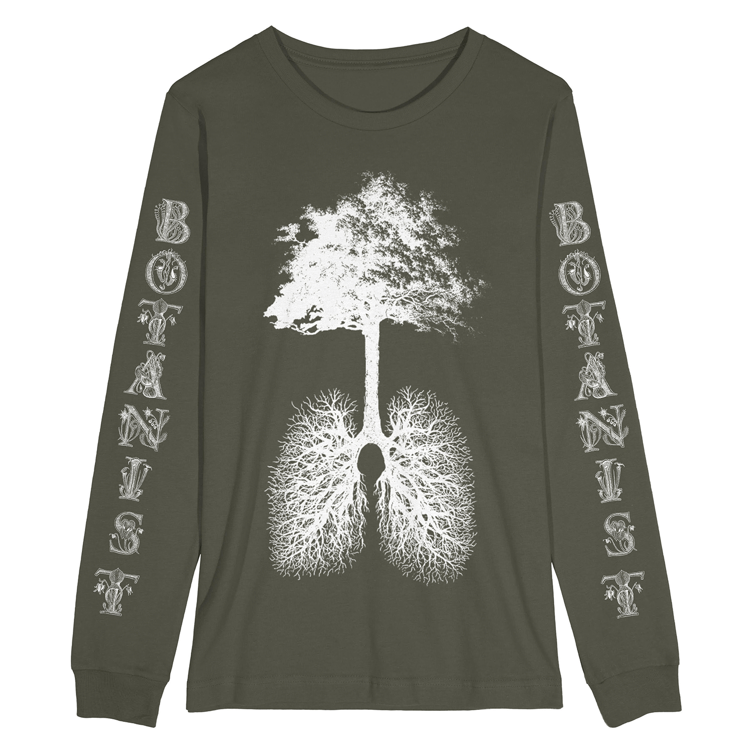 "The Flenser Apparel Botanist ""Photosynthesis"" Longsleeve Shirt"