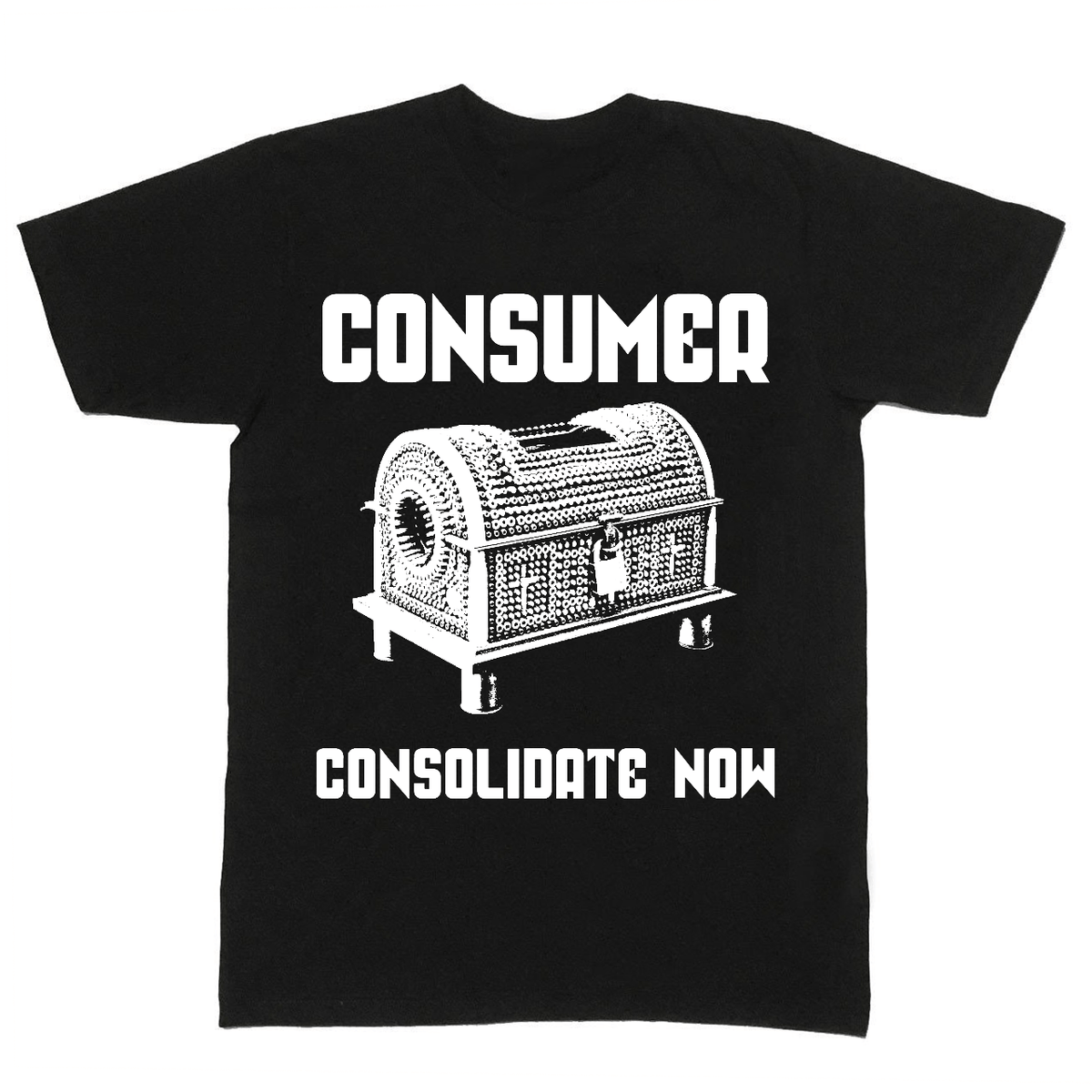 "The Flenser Apparel Consumer ""Consolidate Now"" Shirt"