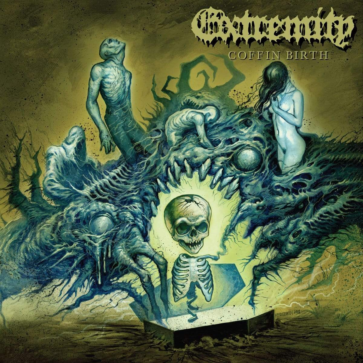 "Extremity ""Coffin Birth"" LP - The Flenser"