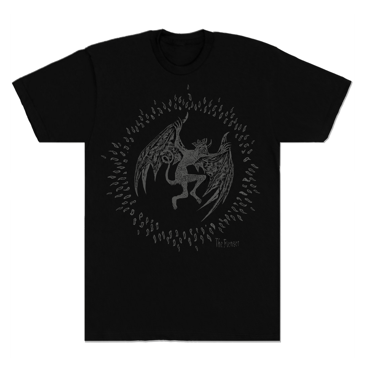 "The Flenser Apparel Flenser ""Bat Dark"" Shirt"