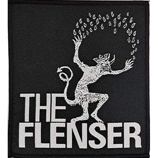 "The Flenser Apparel Flenser ""Logo"" Woven Patch"