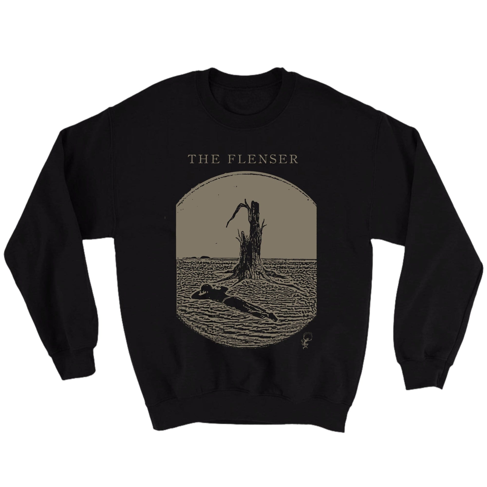 "The Flenser Apparel Flenser ""Rest"" Crewneck"