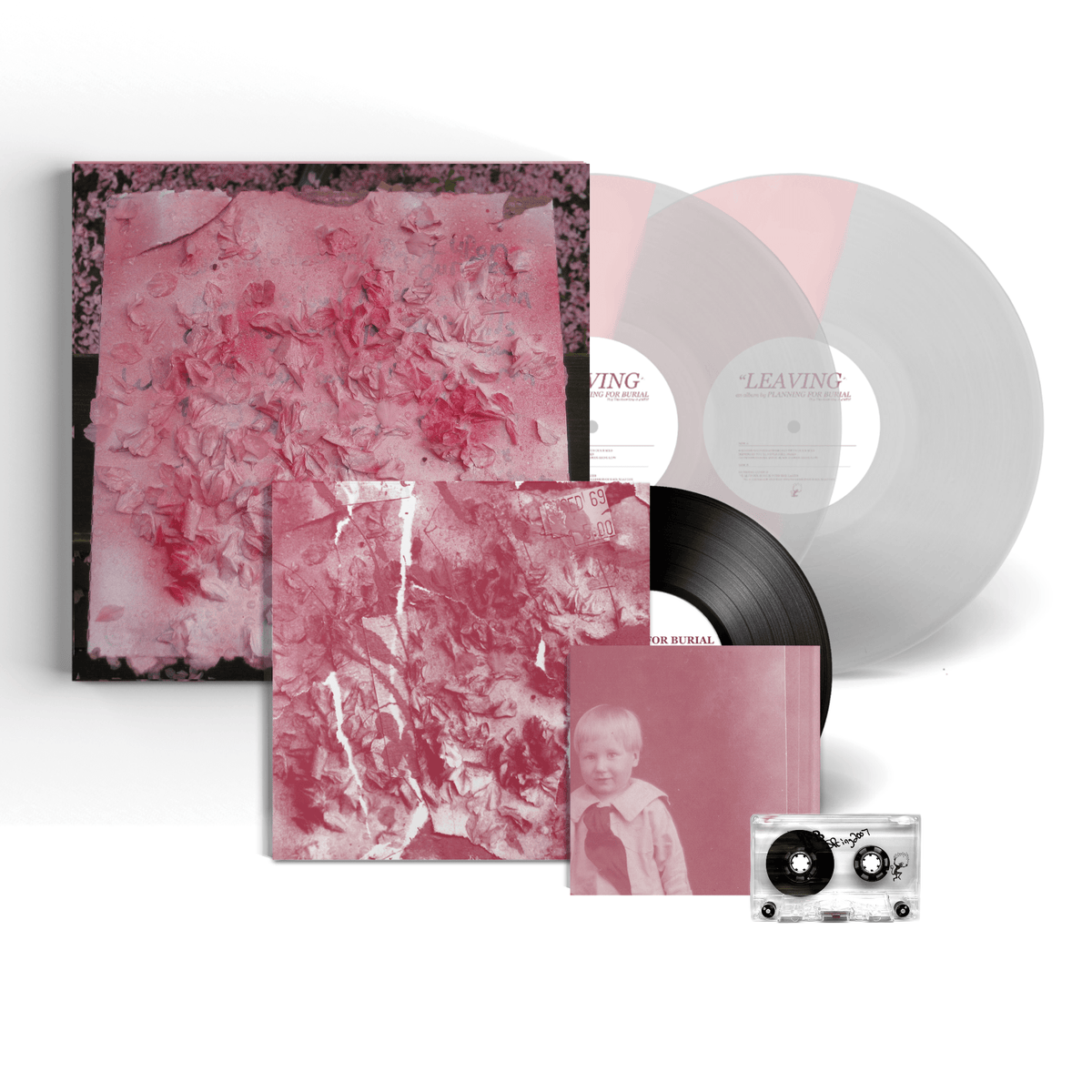 "Planning For Burial - ""Leaving"" 3LP Boxset (pre-order)"