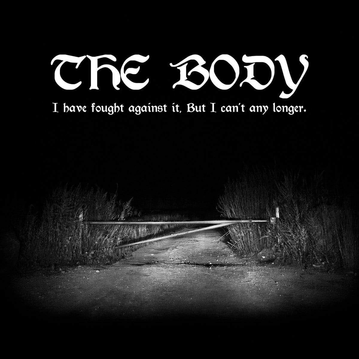 "Thrill Jockey Vinyl The Body ""I Have Fought Against It, But I Can't Any Longer."" DLP"