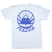 Mt. Pleasant Tee - White/Blue