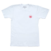 Mt. Pleasant Tee - White/Red