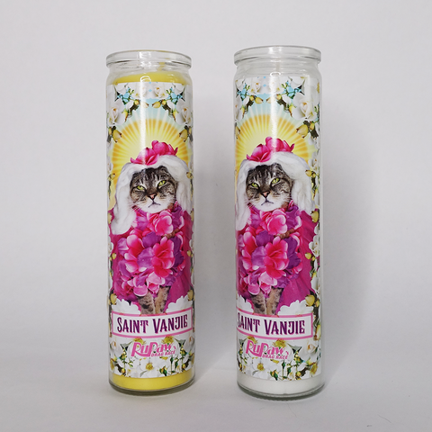 Saint Vanjie Prayer Candle