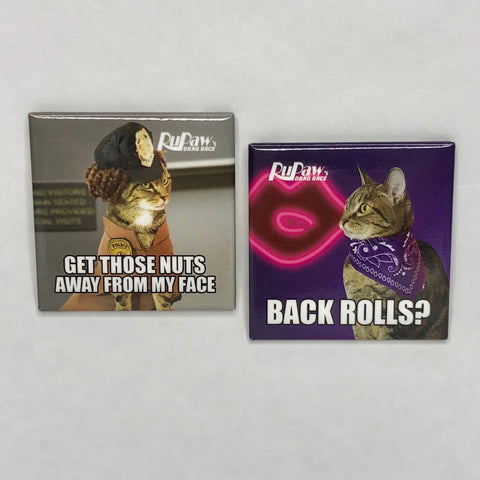 Alyssa Edwards & Latrice Royale Kitty Girl Meme Magnet Set